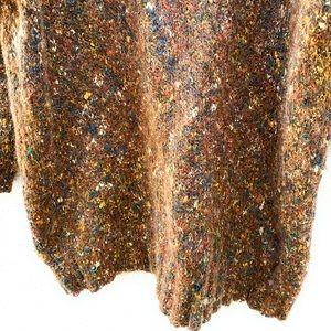 Express Sweaters - Express Mohair Blend Turtleneck Oversized Sweater